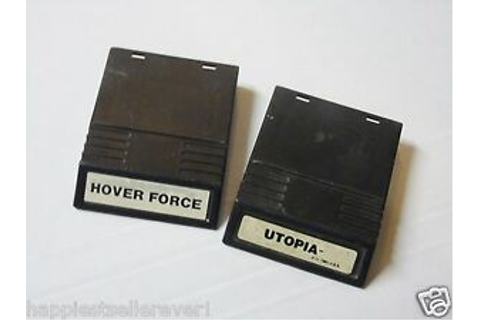 Intellivision Hover Force Utopia INTV for the ...