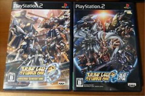 PS2 Super Robot Wars OG Gaiden & Original Generations game ...