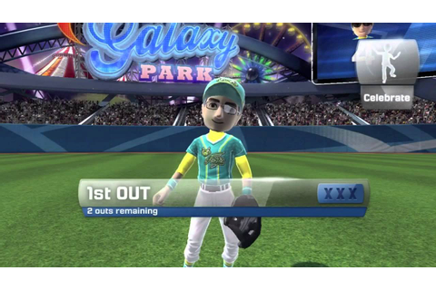 How to play Baseball on xbox 360 kinect sports season two ...