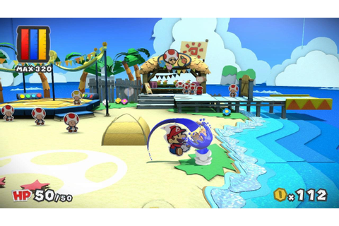 Nintendo Producer Highlights How Paper Mario: Color Splash ...