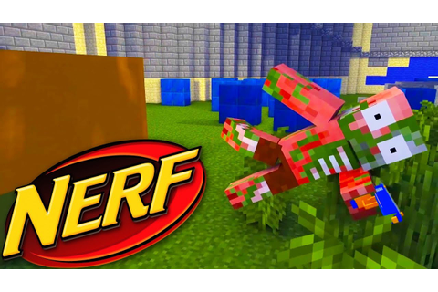 Monster School : NERF GAME BRAVE CHALLENGE - Minecraft ...