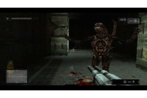 Alien: Resurrection (PS1) - Call gameplay - YouTube