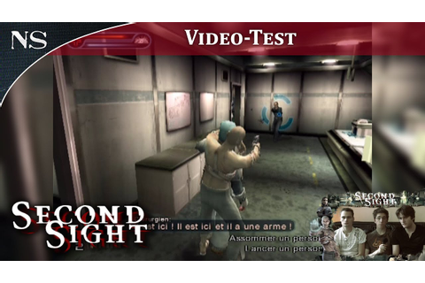 Second Sight | Vidéo-Test PS2 (NAYSHOW) - YouTube