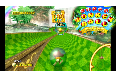 Super Monkey Ball Deluxe ... (PS2) - YouTube