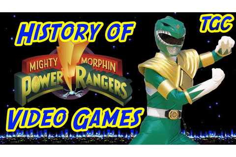History of Power Rangers Video Games: Mighty Morphin ...