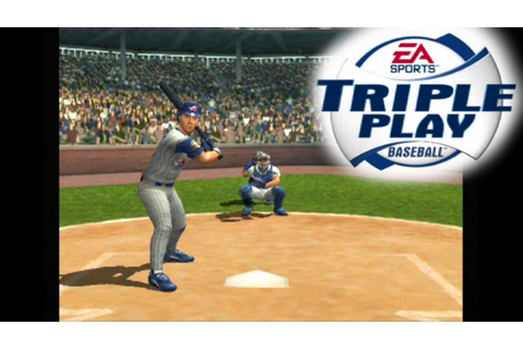 Triple Play Baseball ... (PS2) - YouTube