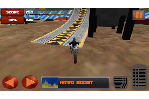 3D Motor Bike Stunt Mania Part 2 Gameplay (Android) (1080p ...
