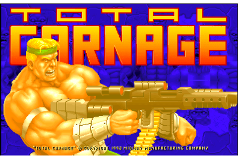 Total Carnage - Videogame by Midway Games