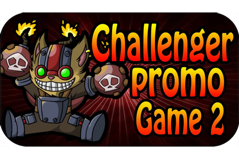 Challenger Promo Game 2 - Ziggs Mid Full Gameplay - YouTube