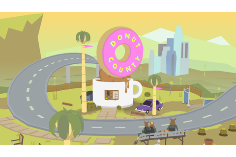 Donut County trailer shown at PSX 2017 - PlayStation Universe