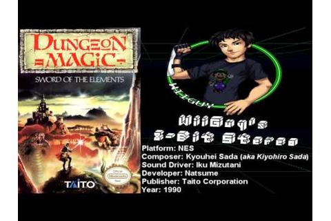 Dungeon Magic: Sword of the Elements (NES) Soundtrack ...