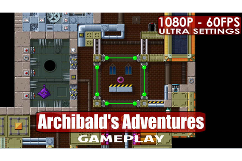 Archibald's Adventures gameplay PC HD [1080p/60fps] - YouTube