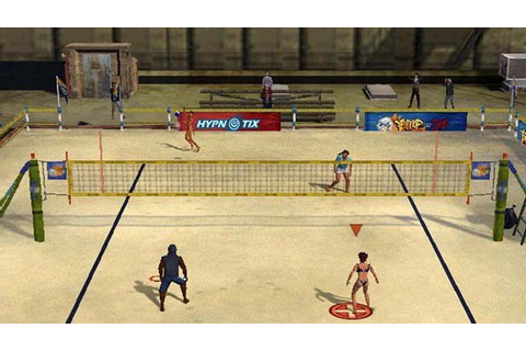 Outlaw Volleyball Remixed (2005) by Hypnotix PS2 game