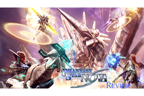 Game Review - Phantasy Star Nova - YouTube