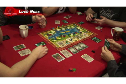 Loch Ness Board Game Video Review - YouTube