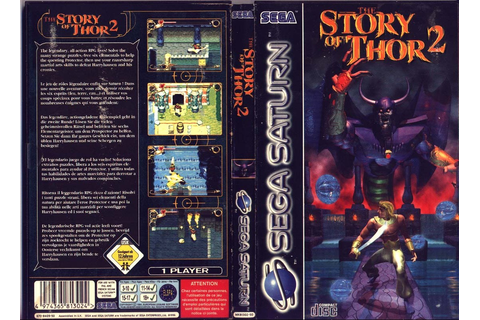 Sega Saturn T The Story Of Thor 2 E Game Covers Box Scans ...