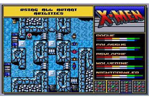 X-Men 2: The Fall of the Mutants Download (1991 Arcade ...