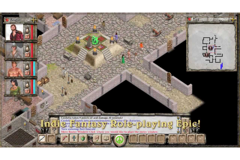 Avernum: Escape From the Pit Trailer - YouTube