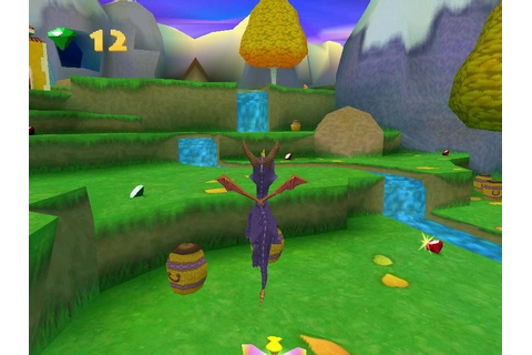 Spyro: Year of the Dragon (2000) by Insomniac Games PS game