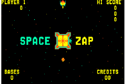 Space Zap (1980) Arcade game