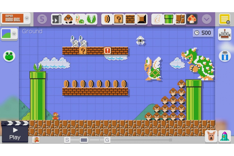 Super Mario Maker: Nintendo adding checkpoints in free ...