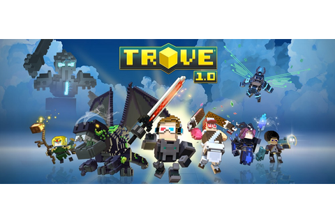 Trion World's Trove is like a Minecraft MMO building game ...