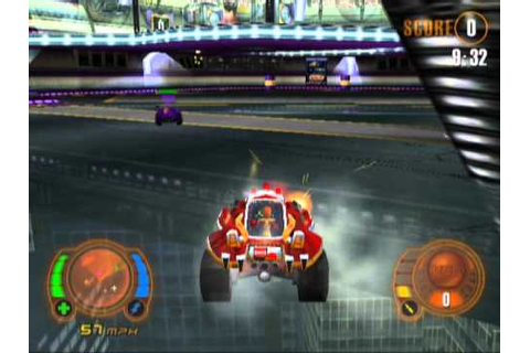 Motor Mayhem: Vehicular Combat League (PS2 Gameplay) - YouTube
