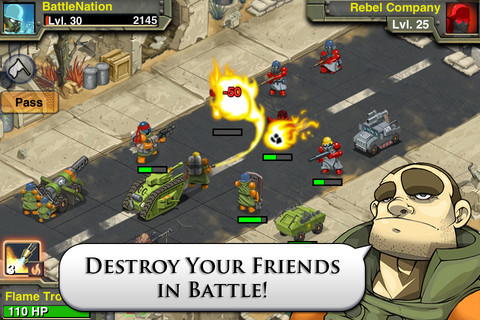 Battle Nations iPhone game app review | AppSafari