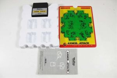 Armor Attack Vectrex Game