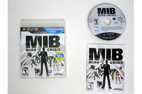 Men In Black: Alien Crisis game for Sony PlayStation 3 ...