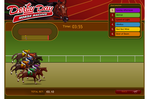 Derby Day - virtual horse racing!