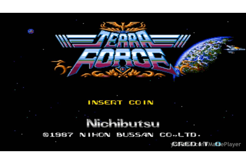 Terra Force 1987 Nichibutsu Mame Retro Arcade Games - YouTube