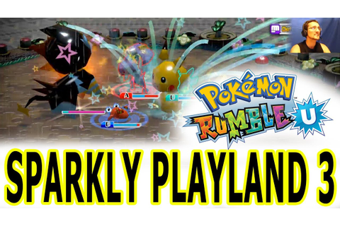 Pokemon Rumble U - Completing Sparkly Playland (pt. 3) Wii ...