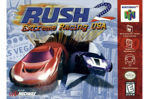 Rush 2 Extreme Racing USA Nintendo 64 Game