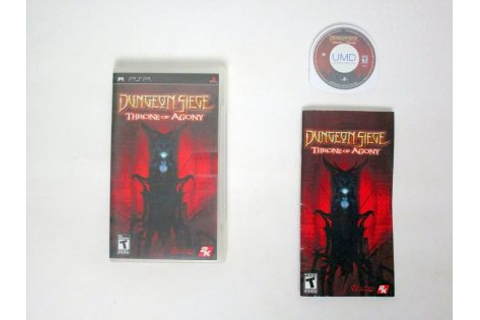 Dungeon Siege Throne of Agony game for Sony PSP | The Game Guy