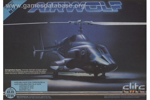 Airwolf - Commodore 64 - Games Database
