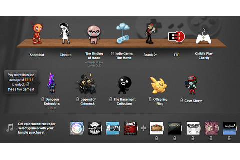 Humble Indie Bundle 7 adds The Basement Collection ...