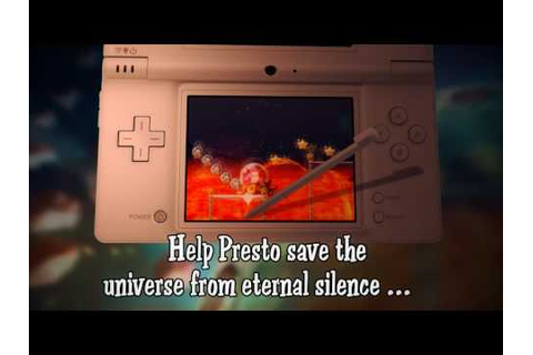 Maestro Jump in music Nintendo DS video game trailer - YouTube
