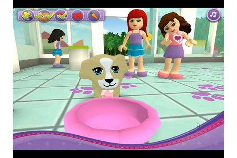 Lego Games› Lego Friends Games› Lego Friends Pet Salon ...