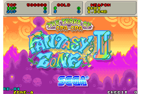 Fantasy Zone II - The Tears of Opa-Opa (System 16C version ...