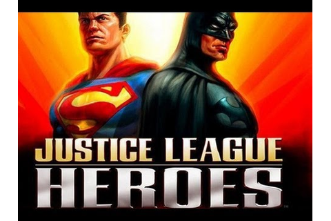 CGRundertow JUSTICE LEAGUE HEROES for PlayStation 2 Video ...
