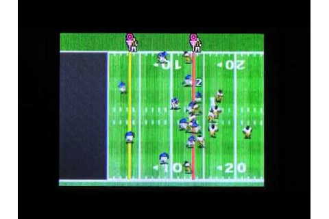 TECMO BOWL KICKOFF for Nintendo DS Video Game Review - YouTube