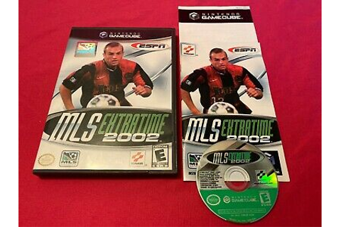 ESPN MLS ExtraTime 2002 Nintendo GameCube Complete Tested ...
