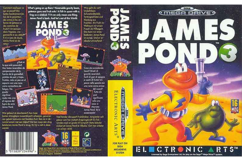 James Pond 3: Operation Starfish | 80'S Top Games