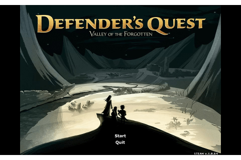 What I played: Defender's Quest: Valley of the Forgotten ...