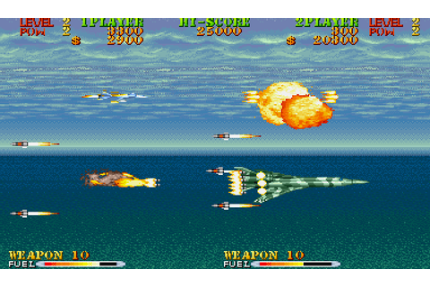 Carrier Air Wing (1990) by Capcom Arcade game