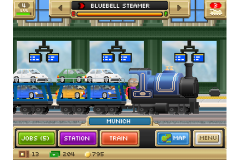 Pocket Trains | App Gaming Direct | iPhone games, Android ...
