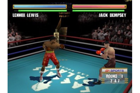 Knockout Kings 2000 (1999) by EA Sports PS game