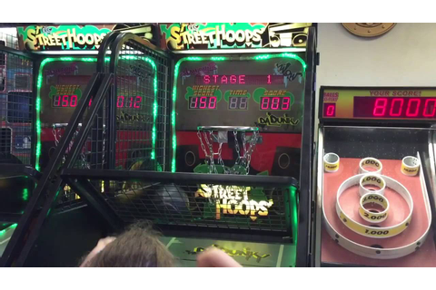 Street Hoops Basketball Shoot Baskets Video Arcade Game ...
