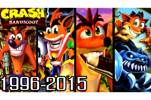 Crash Bandicoot ALL INTROS 1996-2015 (PS1, PS2, Xbox, GC ...